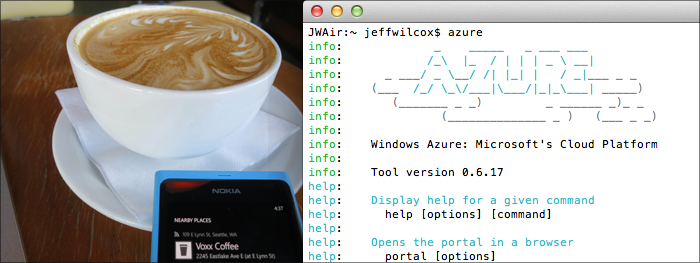 Setting up a MongoDB replica set via Mac command line tools while in a Seattle coffee shop.