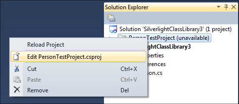 VisualStudioEditProject