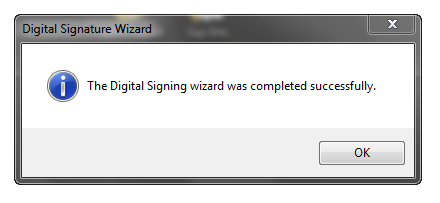 Digital Signature Wizard (10)