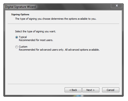 Digital Signature Wizard (4)