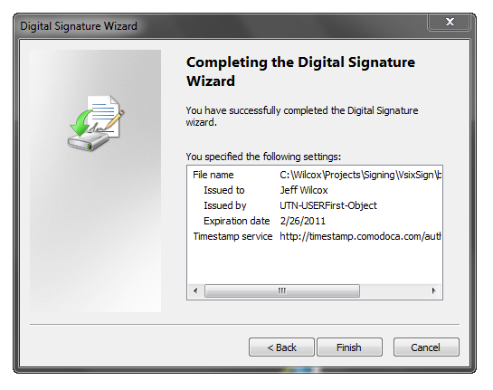 Digital Signature Wizard (9)
