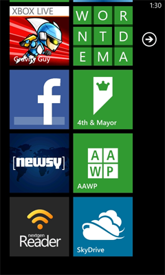 A few 4th & Mayor things: Node cloud backend, Nokia Apps