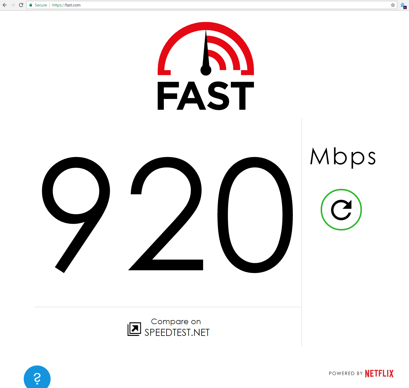 My home network: Ubiquiti UniFi gear, fiber gigabit Internet