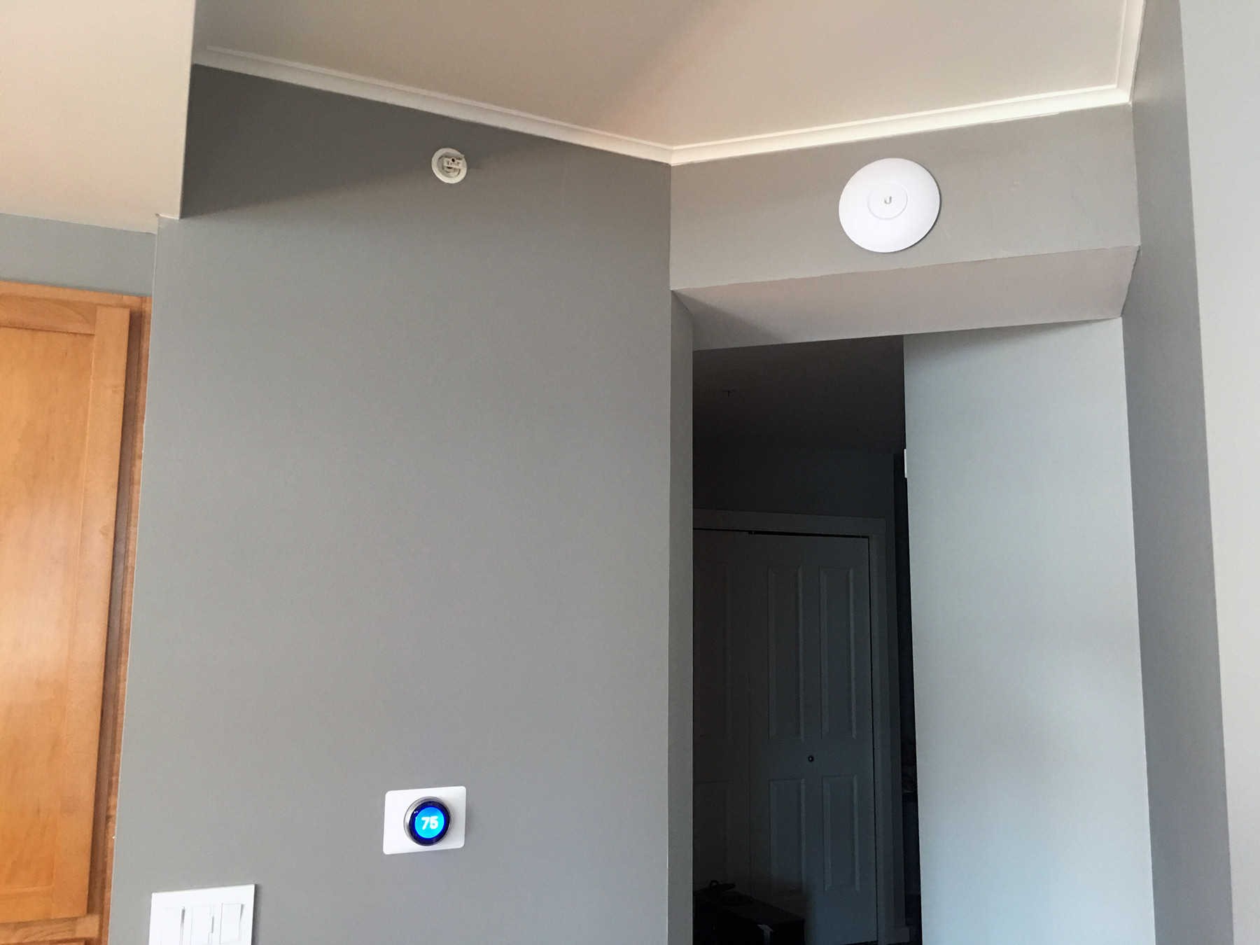 My home network: Ubiquiti UniFi gear, fiber gigabit Internet, CAT6