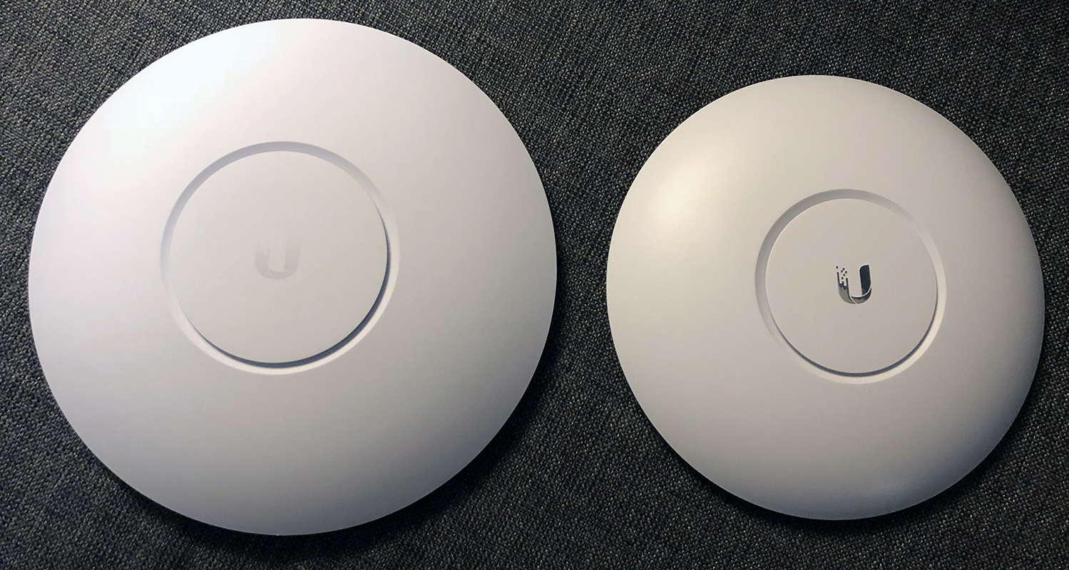My home network: Ubiquiti UniFi gear, fiber gigabit Internet